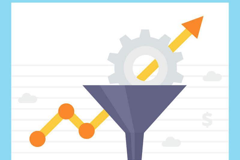 conversion rate optimization line chart