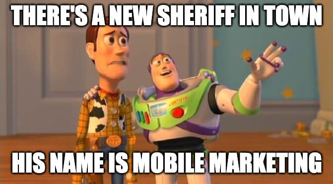 meme about mobile marketing